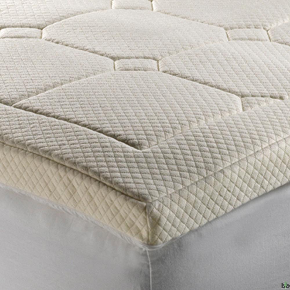 Xbase 6cm memory foam mattress topper from bad backs for Mattress topper